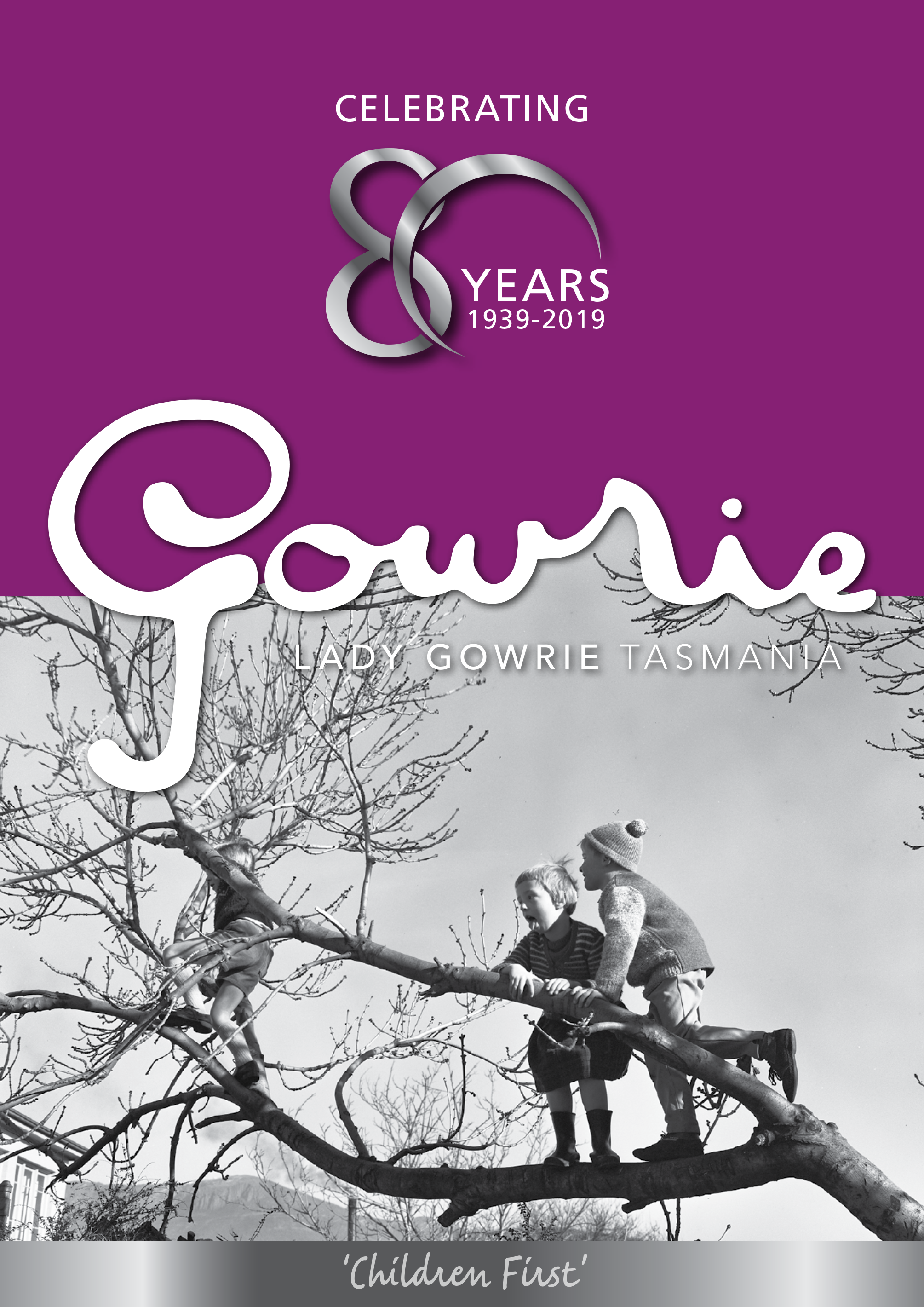 Lady Gowrie Tasmania 80th Birthday Booklet